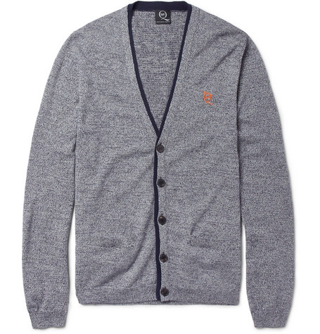 McQ Alexander McQueen Cotton and Wool-Blend Cardigan