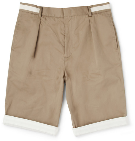 McQ Alexander McQueen Slim-Fit Cotton-Blend Shorts