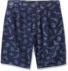 McQ Alexander McQueen Printed Cotton Shorts