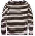 Margaret Howell - Striped Knitted Cotton Sweater
