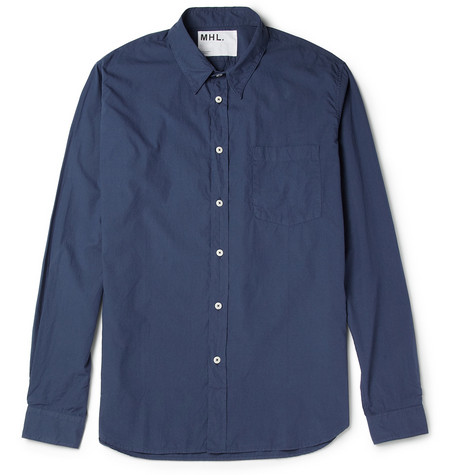 Margaret Howell MHL Garment-Dyed Cotton Shirt