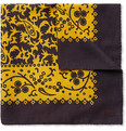 MP Massimo Piombo - Printed Cotton Pocket Square