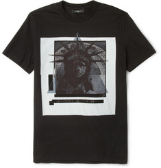 Givenchy Printed Cotton-Jersey T-Shirt