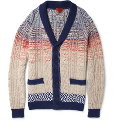 Missoni Knitted Cotton-Blend Cardigan