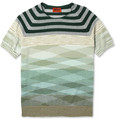 Missoni Knitted Cotton Crew Neck T-Shirt