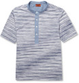 Missoni - Patterned Cotton and Chambray T-Shirt
