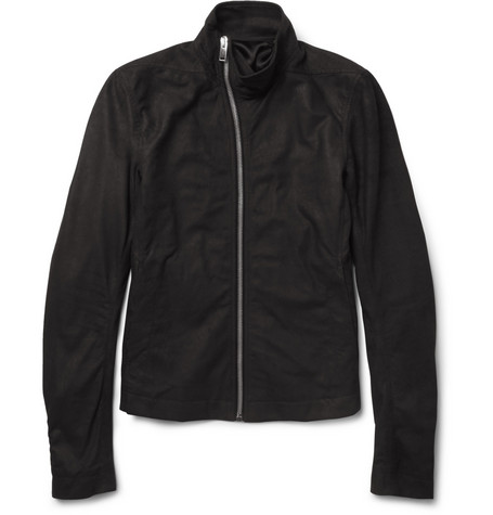 Rick Owens Washed-Leather Jacket