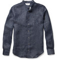 AMI - Linen-Chambray Shirt