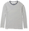 AMI - Striped Long Sleeved T-Shirt