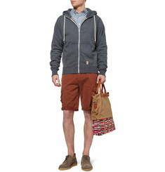 Ami Cotton-Gabardine Cargo Shorts