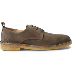 Ami Crepe-Sole Suede Derby Shoes