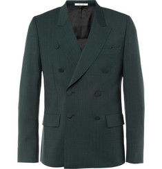 Paul Smith Green Wool-Blend Suit Jacket