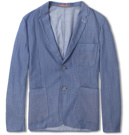 Paul Smith Slim-Fit Unstructured Lightweight Cotton Blazer