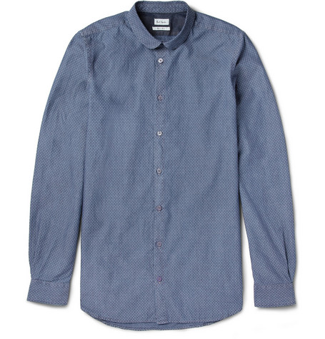 Paul Smith Slim-Fit Jacquard-Woven Cotton Shirt