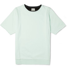 Paul Smith Short-Sleeved Cotton-Jersey Sweatshirt