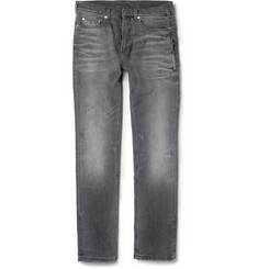 Neil Barrett Slim-Fit Distressed Denim Jeans