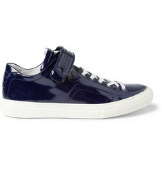 Pierre Hardy Patent-Leather Sneakers