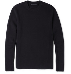 Alexander Wang Panelled Cotton-Blend Jersey Sweatshirt