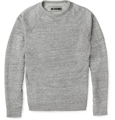 Alexander Wang Loopback Cotton-Blend Jersey Sweatshirt