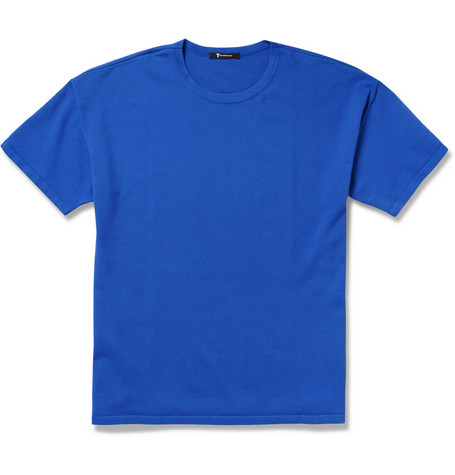 Alexander Wang Pima Cotton-Blend and Jersey T-Shirt