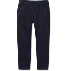 Marni Pleated Cotton-Twill Trousers