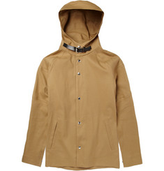Marni Hooded Lightweight Cotton-Blend Jacket