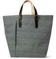 Marni Printed Canvas Tote Bag