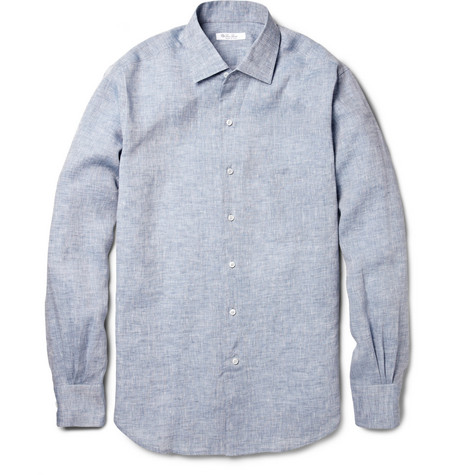 Loro Piana Linen-Chambray Shirt