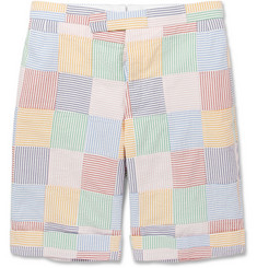 Thom Browne Multi-colour Cotton Suit Shorts