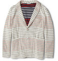 Thom Browne - Striped Cotton-Jersey Blazer
