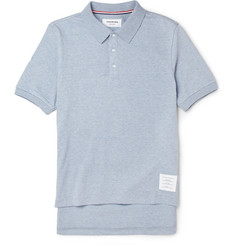 Thom Browne Cotton-Jersey Polo Shirt