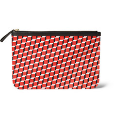 Pierre Hardy Printed Cotton-Canvas Pouch