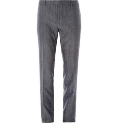 Burberry London Slim-Fit Lightweight Wool and Silk-Blend Trousers