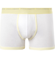 Dolce & Gabbana Cotton Boxer Briefs