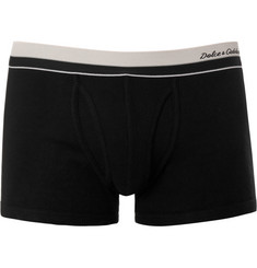 Dolce & Gabbana Ribbed Cotton Boxer Briefs