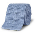 Drake's - Knitted Cotton Tie