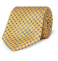 Drake's - Flower-Pattern Silk Tie