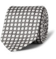 Drake's - Spotted Woven-Silk Tie