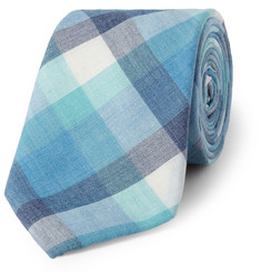 Alexander Olch Check Cotton Tie