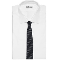 Alexander Olch Dotted Cotton Tie