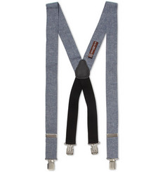 Alexander Olch Cotton-Chambray Braces