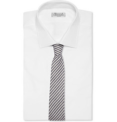 Alexander Olch Striped Cotton Tie