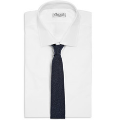 Alexander Olch Knitted Slub Cotton Tie