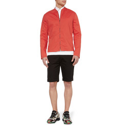 Raf Simons Slim-Fit Cotton-Blend Bomber Jacket