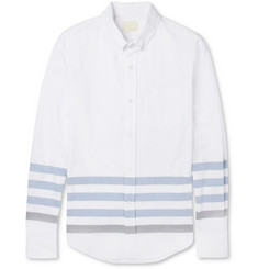 Band of Outsiders Striped Cotton Oxford Shirt
