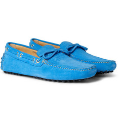 Car Shoe Suede Driving Shoes