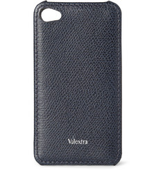 Valextra Pebble-Grain Leather iPhone 4 Cover
