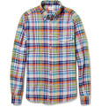 Hartford - Madras-Check Cotton Shirt