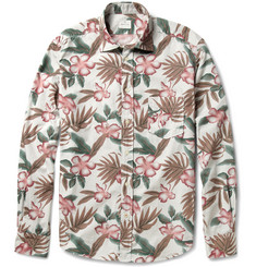 Hartford Floral-Print Cotton Shirt