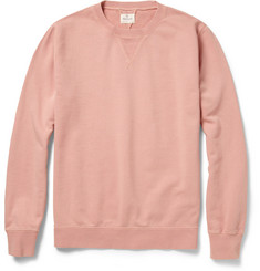 Hartford Loopback-Cotton Sweatshirt